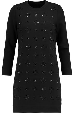 MARC BY MARC JACOBS Embellished wool-blend mini dress