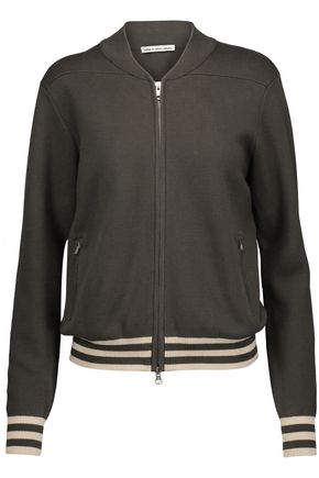 AUTUMN CASHMERE Milano cotton bomber jacket