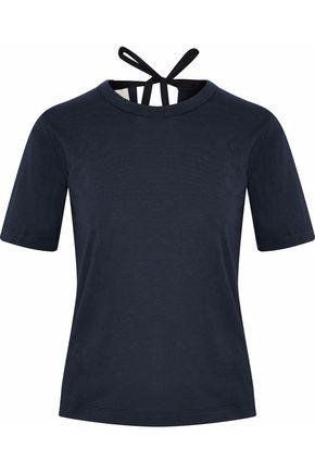 ZIMMERMANN Open-back cotton-jersey top