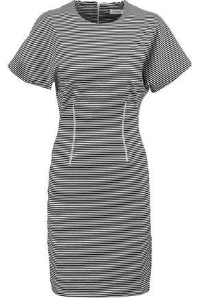 TOTÊME Thiva striped stretch cotton-blend dress