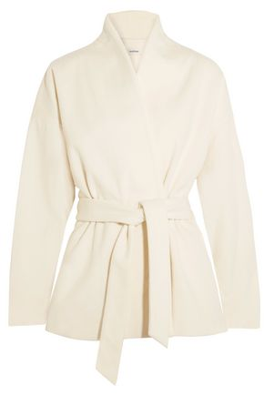 TOTÊME Zurs belted wool-blend jacket