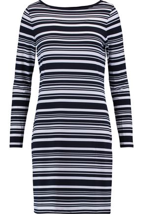 MICHAEL MICHAEL KORS Striped knitted mini dress