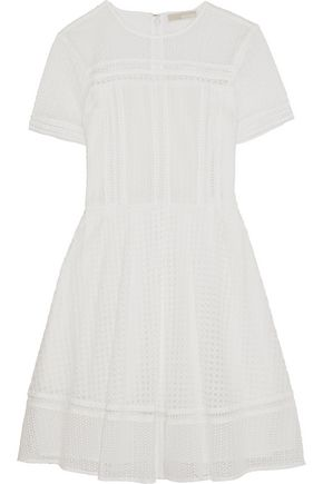 MICHAEL MICHAEL KORS Crochet-knit mini dress