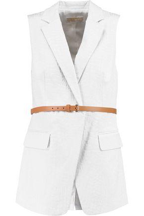 MICHAEL MICHAEL KORS Belted embossed vest