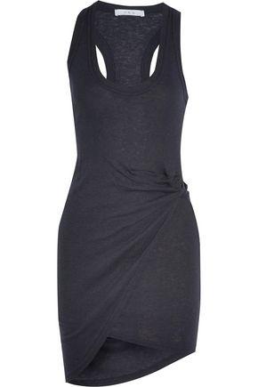 IRO Ruched jersey mini dress