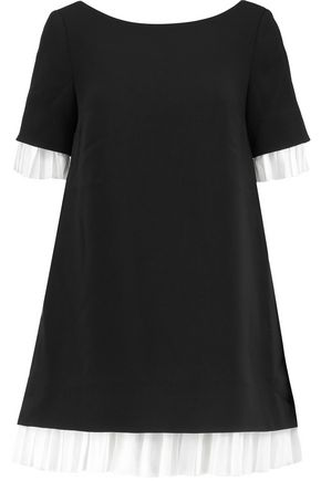 CINQ À SEPT Clementine ruffled crepe mini dress