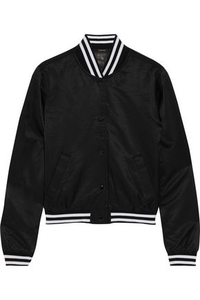 R13 Shrunken Roadie satin jacket
