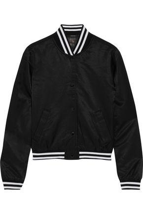 R13 Shrunken Roadie satin jacket