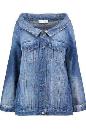 ROBERT RODRIGUEZ Off-the-shoulder denim jacket