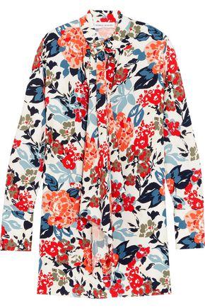 SONIA RYKIEL Floral-print crepe mini dress