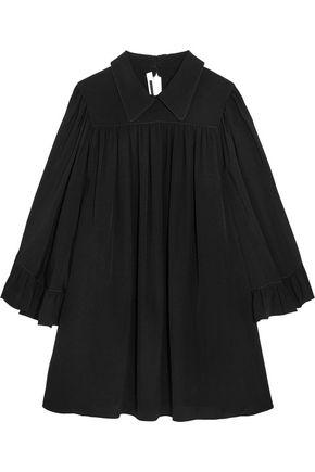 McQ Alexander McQueen Crepe de chine mini dress