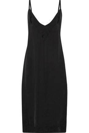 BASSIKE Charmeuse slip dress