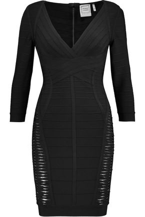 HERVÉ LÉGER BY MAX AZRIA Bandage mini dress