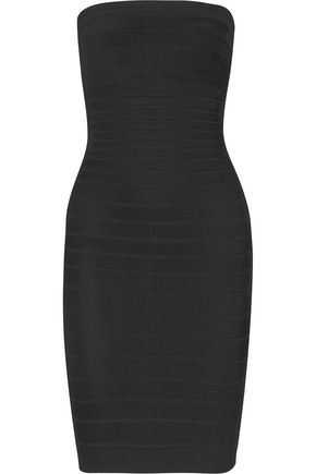 HERVÉ LÉGER Strapless bandage mini dress