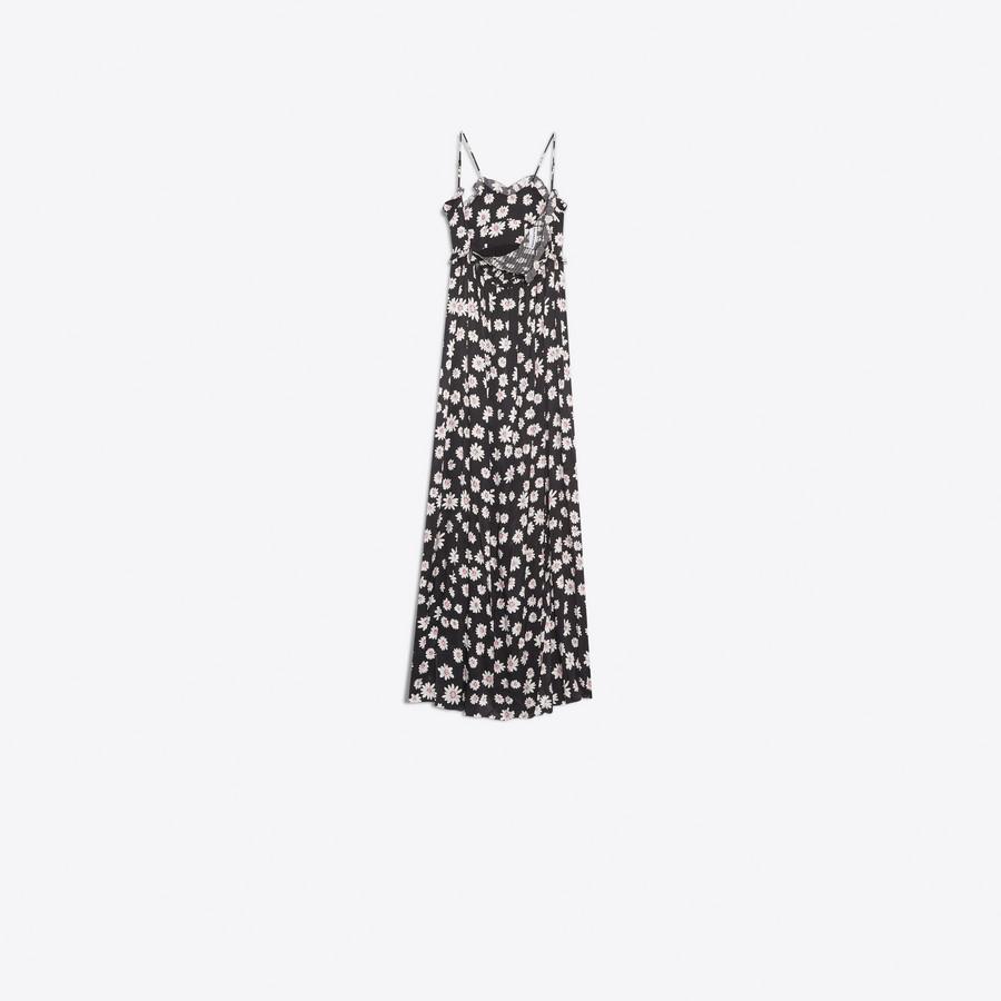 BALENCIAGA Summer Gown Dress Woman d