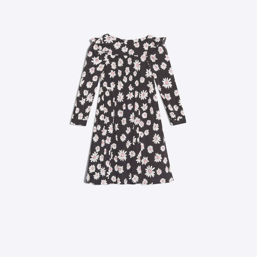 BALENCIAGA Long Sleeves Baby Doll Dress Dress D f
