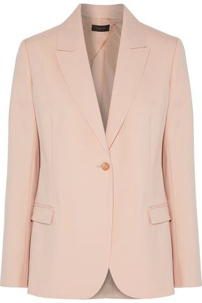 CALVIN KLEIN COLLECTION Wool and mohair-blend blazer