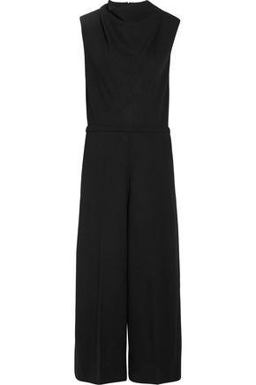 MAISON MARGIELA Open-back virgin wool wide-leg jumpsuit