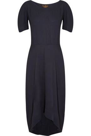 VIVIENNE WESTWOOD ANGLOMANIA Bow-detailed crepe dress