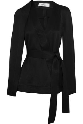 CHALAYAN Tie-front jacket