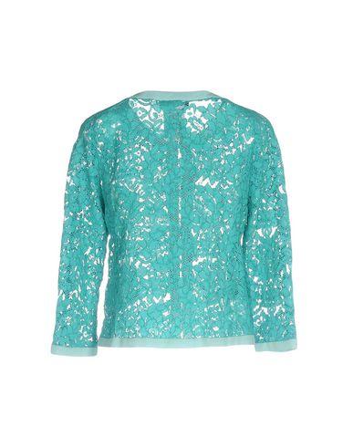 Фото 2 - Женский пиджак  бирюзового цвета