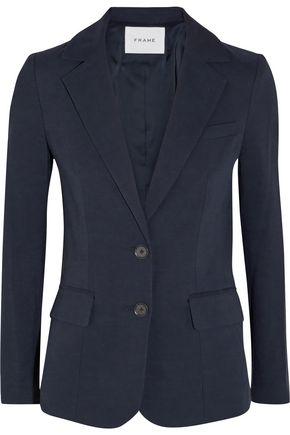 FRAME Easy twill blazer