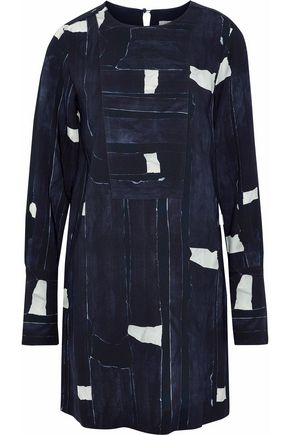 MAX MARA Printed crepe dress