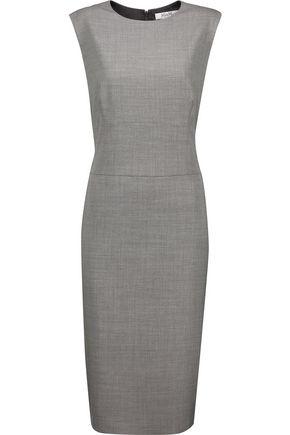 MAX MARA Wool and silk-blend dress