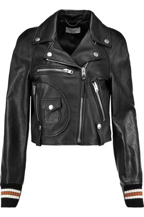 COACH Varsity Moto leather biker jacket