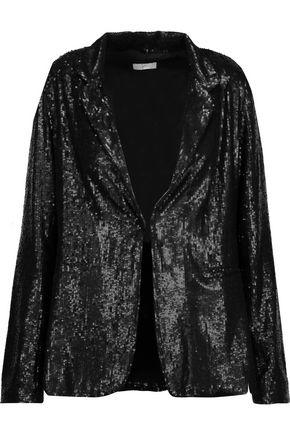 JOIE Mehira sequined gauze blazer