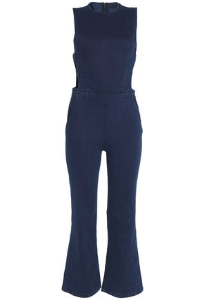 3x1 Cutout denim jumpsuit