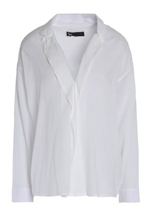 3x1 Cotton-blend broadcloth shirt