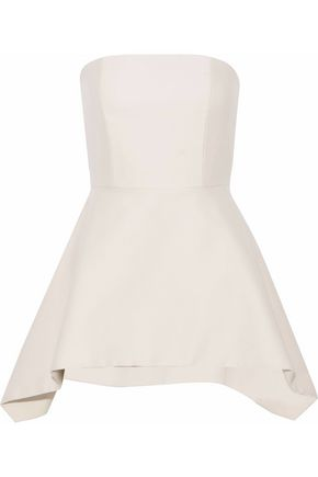 ALICE + OLIVIA Flared wool-blend mini dress