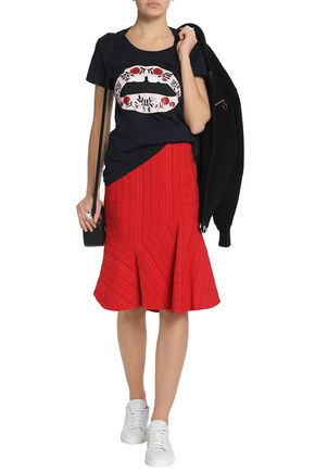 MARKUS LUPFER Printed cotton-jersey T-shirt