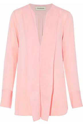 BY MALENE BIRGER Layered crepe de chine blouse