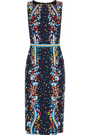 PETER PILOTTO Printed crepe dress