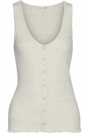 RAG & BONE/JEAN Cotton-blend top