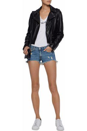 RAG & BONE/JEAN Distressed denim shorts