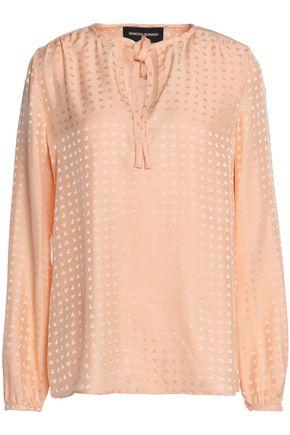 VANESSA SEWARD Silk-jacquard blouse