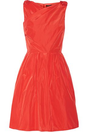RAOUL Taffeta mini dress