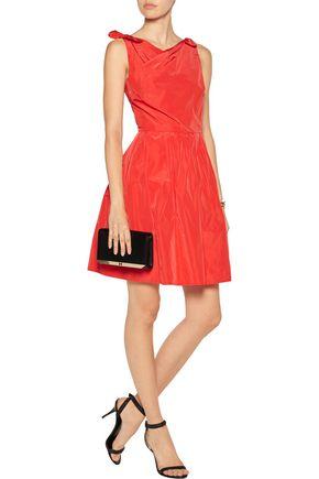 RAOUL Taffeta mini dress