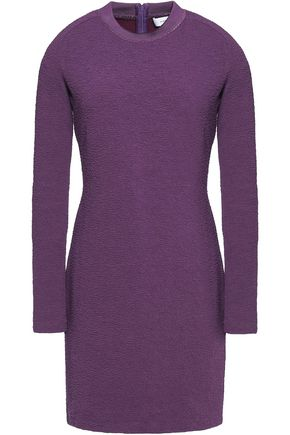 CARVEN Cotton-blend cloqué mini dress