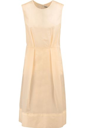 MARNI Pleated canvas dress