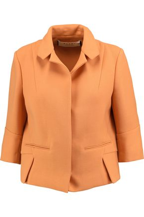MARNI Pleated wool jacket