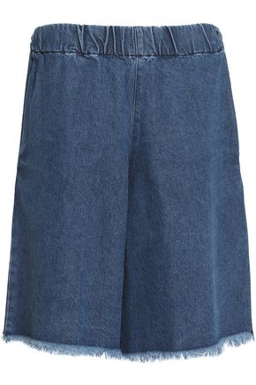 MARQUES' ALMEIDA Frayed denim shorts