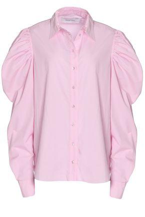 MARQUES ' ALMEIDA Cotton-chambray top