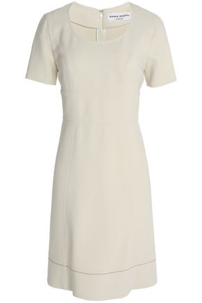 SONIA RYKIEL Paneled crepe dress