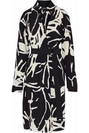 BY MALENE BIRGER Printed crepe dress