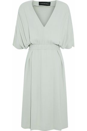 BY MALENE BIRGER Pleated crepe dress