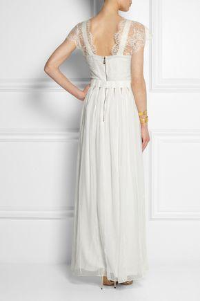 SOPHIA KOKOSALAKI Tykhe lace and chiffon gown